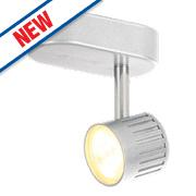 Inlight Warwick Single LED Spotlight Silver Matt 280Lm 4W