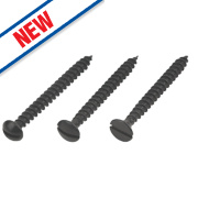 Easydrive Black-Coated Chipboard Screws Handy Pack Mixed Head Types Pk420