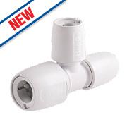 Hep2O Push-Fit Reducing Tee 15 x 10 x 10mm