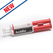Araldite Rapid Set 2-Part Epoxy Adhesive Syringe Opaque 24ml