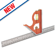 """Bahco Combination Square 12"""" (305mm)"""