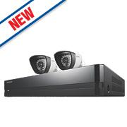 Samsung SDS-P3022/EU 4-Channel CCTV DVR & 2 Cameras