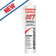 Evo-Stik 007 Crystal Clear All-In-One Sealant & Adhesive Clear 290ml