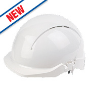 Centurion Concept Roofer Vented Safety Helmet White