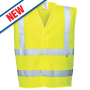 Portwest Hi-Vis Flame Retardant Vest Yellow XX Large / XXX Large 55
