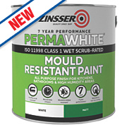 Zinsser Perma-White Self-Priming Paint Matt White 2.5Ltr