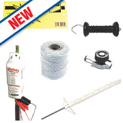 Wolseley Electric Fencing Kit 200 x 1.05m Battery Operated