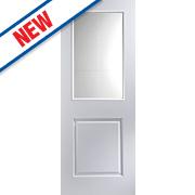 Jeld-Wen Cambridge 2-Panel Internal Glazed Door Primed 1981 x 762mm