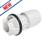 Hep20 Push-Fit Tank Connector 22mm x ¾""
