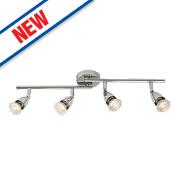 Saxby Amalfi 4-Light Spotlight Bar Chrome