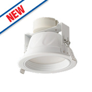 Luceco Fixed Recessed LED Downlight 720Lm White 6W