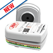 JSP Force 8 Press-to-Check Combination Cartridges ABEK1P3 Pack of 2