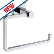 Moretti Linear Toilet Roll Holder Chrome