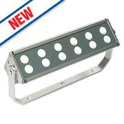 Saxby Gleam LED Floodlight 24W Silver