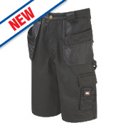 "Lee Cooper LCSHO807 Holster Pocket Cargo Shorts Black 32"" W"