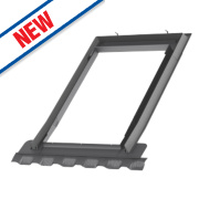 Velux EDN SK06 2000 Single Window Recessed Slate Flashing 1140 x 1180mm