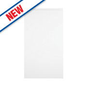 Slab Kitchens Handleless 400 Base/Wall Door White Gloss 715 x 397mm