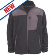 Site Teak Fleece Jacket Black Large 44