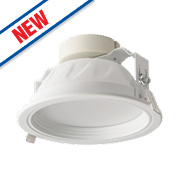 Luceco Fixed Recessed LED Downlight 1440Lm White 12W