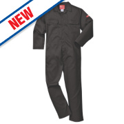 Portwest Bizweld Flame-Resistant Coverall Black Large 44