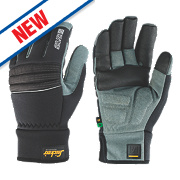 Snickers Weather Neo Grip Performance Gloves Black/Grey Large