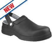 Amblers FS514 Sandal Safety Shoes Black Size 8