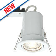 LAP Fire Rated Adjustable LED Downlight IP20 Gloss White 2.5W