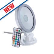 Brackenheath ispot RGB LED Floodlight 9W White
