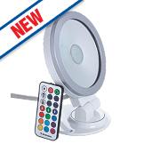 Brackenheath ispot RGB Driverless LED Floodlight 9W White