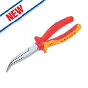 Kinipex Bent Long Nose Side Cutting Pliers 200mm