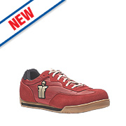 Scruffs Micron Safety Trainers Red Size 9
