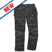Scruffs Worker Plus Work Trousers Black 32