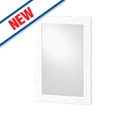 Slab Kitchens 500 Glass Wall Door White Gloss 732 x 496mm
