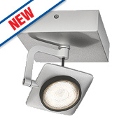 Philips Millennium LED Wall Spotlight Aluminium 5W 220-240V