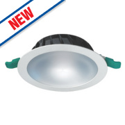 Sylvania Fixed Integrated LED Downlight 1126Lm White 12W 240V