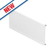 Barlo Round-Top Single Panel Radiator White 700 x 700mm