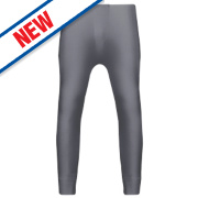 Workforce Thermal Baselayer Trousers Grey Large 36-38