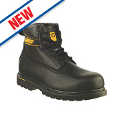CAT Holton S3 Safety Boots Black Size 13
