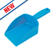Hill Brush Company Polypropylene Small Feed Scoop Green 0.5Ltr