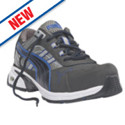 Puma Pace Safety Trainers Blue Size 8