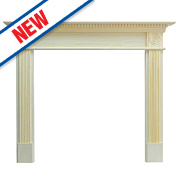 Focal Point Woodthorpe Fire Surround Pine Veneer