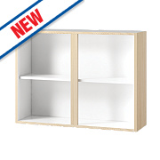 Oak Kitchen Wall Cabinet 1000 x 282 x 738mm