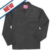 "Portwest Bizweld Flame-Resistant Jacket Black X Large 48"" Chest"
