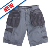 Site Hound Multi-Pocket Shorts Grey 40