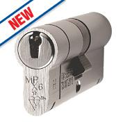 Eurospec 5-Pin Master Keyed Euro Cylinder Lock 45-50 (95mm) Polished Chrome
