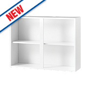 White Kitchens Wall Cabinet 1000 x 282 x 738mm