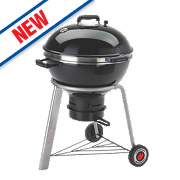 Landmann Black Pearl Kettle Charcoal Barbecue Black 67 x 55 x 88cm
