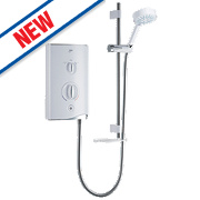 Mira Sport Thermostatic Electric Shower White/Chrome 10.8kW
