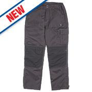 "Hyena K2 Trousers Waterproof Black X Large 41"" W 32"" L"