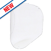 Honeywell Bionic Polycarbonate Visor Clear